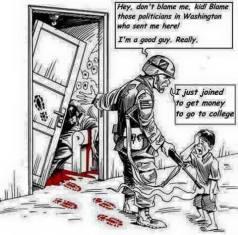 """""""To nie moja wina, że ich zabiłem, ja tylko chciałem zarobić by iśc na studia."""""""